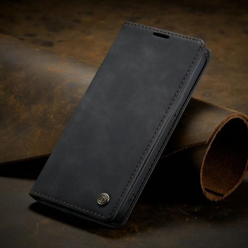 Caseme-013 Magnetic Card Case For Samsung A10 Black