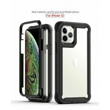Qihang Series 2in1 Anti-drop Case For iPhone 12/12 Pro 6.1 Black