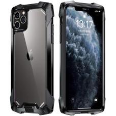 Black Samurai series Anti-Drop Case For iPhone 12 Pro Max 6.7 Black