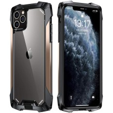 Black Samurai series Anti-Drop Case For iPhone 12 Mini 5.4 Gold
