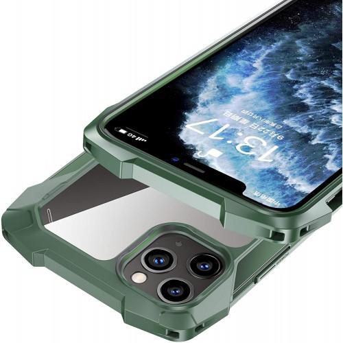 Black Samurai series Anti-Drop Case For iPhone 12/12 Pro 6.1 Green