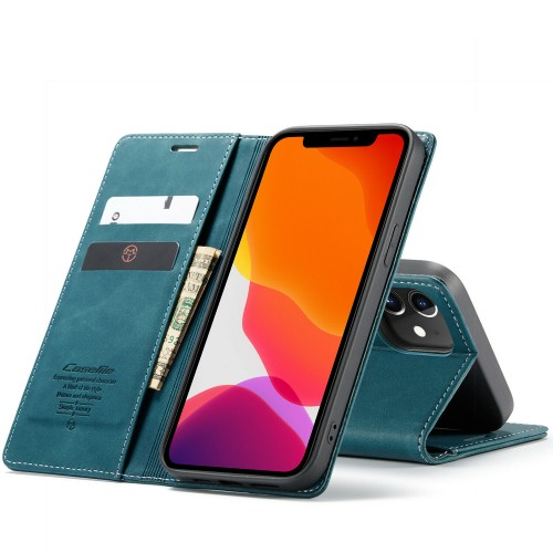 Caseme-013 Magnetic Card Case For iPhone 11 Pro Blue