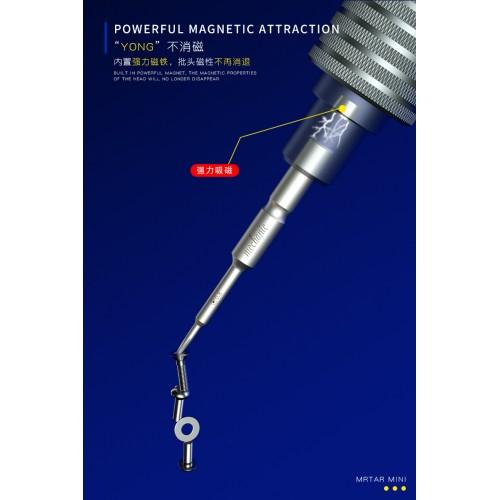 Mechanic Small Steel Gun Series iShell Max Tools Cross 1.5 Philips Screwdriver