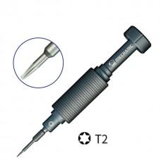 Mechanic Small Steel Gun Series iShell Max Tools T2 Screwdriver