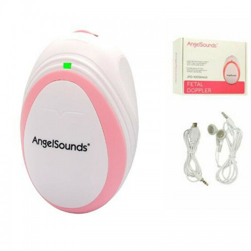 Jumper 100s Mini Angelsounds Fetal Doppler Detector Baby Ultrasound Heart Beat Monitors