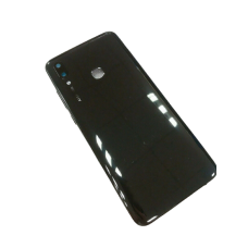 For Huawei P Smart 2019 POT-LX1 Rear Battery Back Cover Housing Replacement+Lens Black