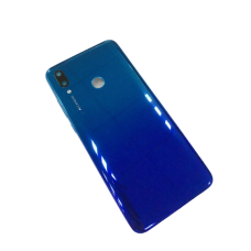 For Huawei P Smart 2019 POT-LX1 Rear Battery Back Cover Housing Replacement+Lens Blue
