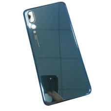 For Huawei P20 Pro Rear Glass Battery Back Cover Replacement+Camera Lens Blue
