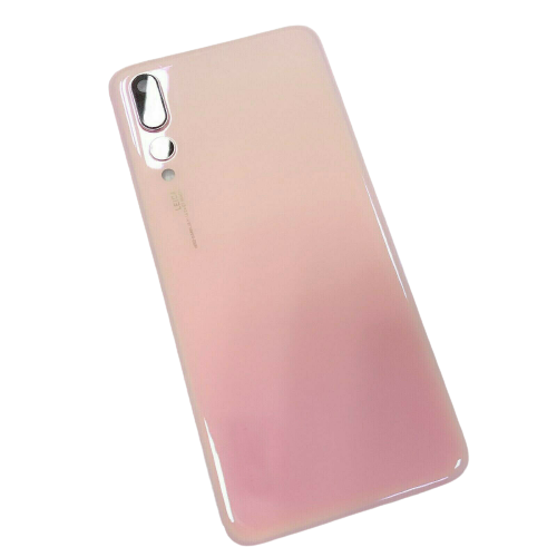 For Huawei P20 Pro Rear Glass Battery Back Cover Replacement+Camera Lens Pink