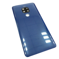 For Huawei Mate 20 Pro Rear Glass Battery Back Cover +Camera Lens Blue