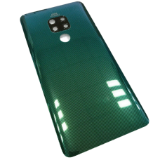 For Huawei Mate 20 Rear Glass Battery Back Cover Housing+Camera Lens Green
