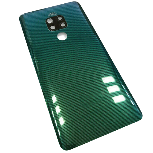 For Huawei Mate 20 Pro Rear Glass Battery Back Cover +Camera Lens Green
