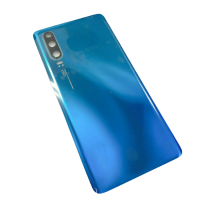 For Huawei P30 Pro Rear Glass Battery Back Cover Housing Replacement+Camera Lens Aurora Blue