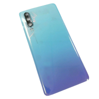 For Huawei P30 Pro Rear Glass Battery Back Cover Housing Replacement+Camera Lens Sky Realm