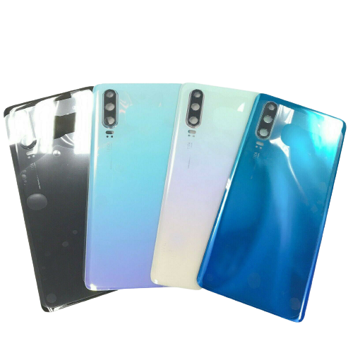 For Huawei P30 Rear Glass Battery Back Cover Housing Replacement+Camera Lens Sky Realm