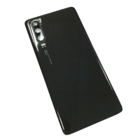 For Huawei P30 Pro Rear Glass Battery Back Cover Housing Replacement+Camera Lens Black