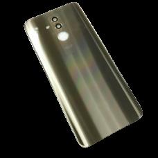 For Huawei Mate 20 lite Rear Glass Battery Back Door Cover Housing+Camera Lens Gold
