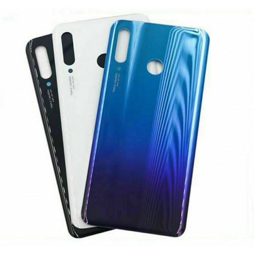 For Huawei P30 Lite Rear Glass Battery Back Cover Housing Replacement Adhesive 48MP Blue