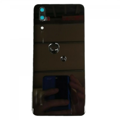 For Huawei P20 Rear Glass Battery Back Door Cover Housing Replacement+Camera UK Black