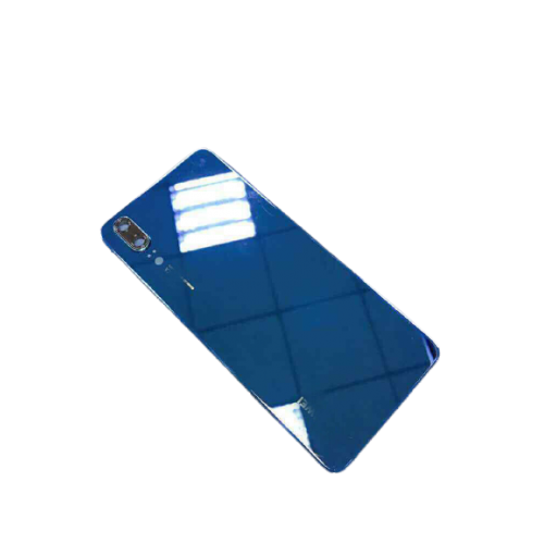 For Huawei P20 Rear Glass Battery Back Door Cover Housing Replacement+Camera UK Blue