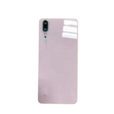 For Huawei P20 Rear Glass Battery Back Door Cover Housing Replacement+Camera UK Pink