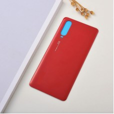 For Huawei P30 Rear Glass Battery Back Cover Housing Replacement Adhesive Red