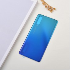 For Huawei P30 Rear Glass Battery Back Cover Housing Replacement Adhesive Aurora Blue