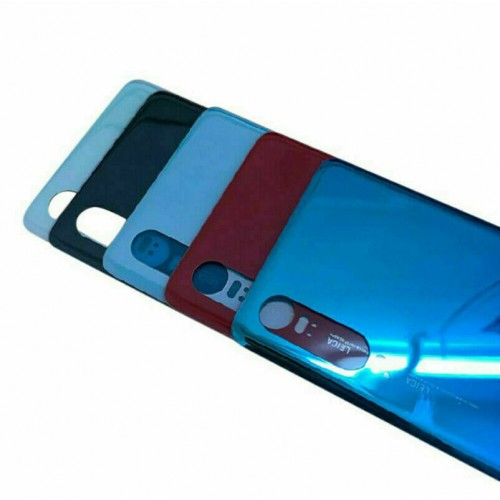 For Huawei P30 Rear Glass Battery Back Cover Housing Replacement Adhesive Black