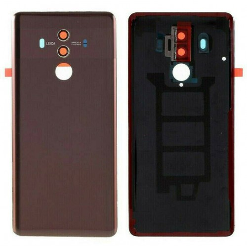 For Huawei Mate 10 Pro Rear Glass Battery Back Cover Adhesive+Camera Brown