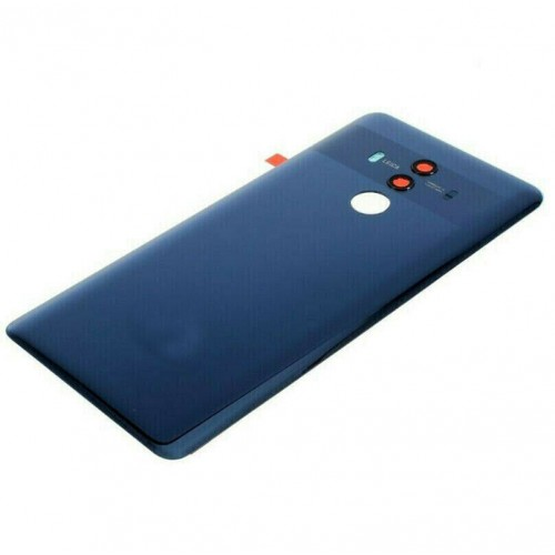 For Huawei Mate 10 Pro Rear Glass Battery Back Cover Adhesive+Camera Blue