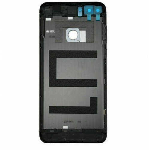 For Huawei P Smart FIG-LX1 Rear Back Battery Cover Housing Camera Lens Black