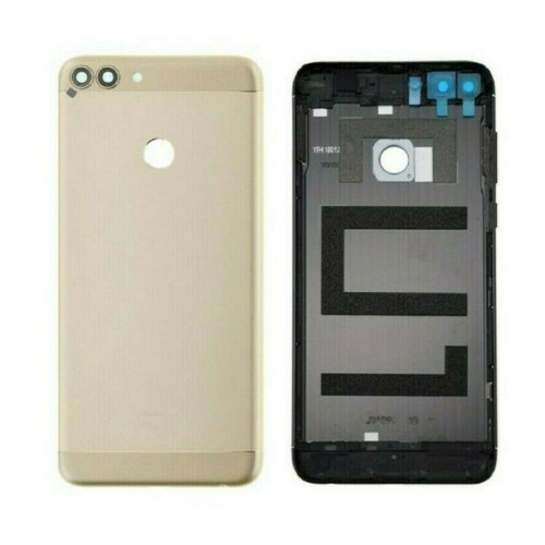 For Huawei P Smart FIG-LX1 Rear Back Battery Cover Housing Camera Lens Gold