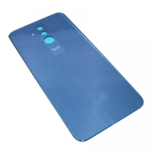 For Huawei Mate 20 Lite Rear Glass Adhesive Battery Door Back Cover Replacement Blue