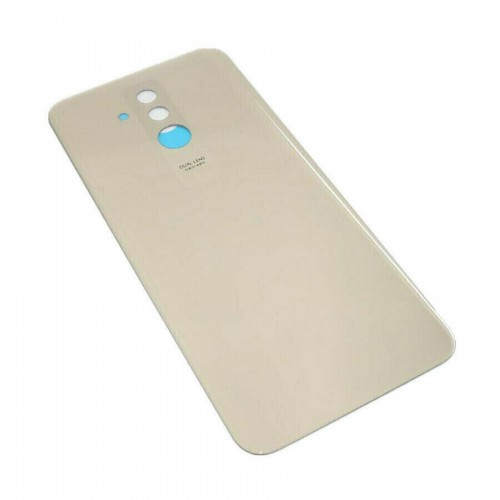 For Huawei Mate 20 Lite Rear Glass Adhesive Battery Door Back Cover Replacement Gold