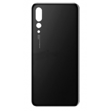 For Huawei P20 Pro Rear Glass Battery Back Door Cover Housing Replacement Black