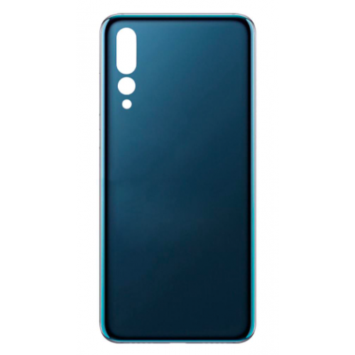 For Huawei P20 Pro Rear Glass Battery Back Door Cover Housing Replacement Blue