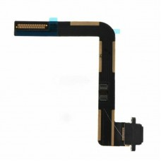 For iPad 5/ 6/ Air Charging Port Dock Connector Flex Cable Replacement Black