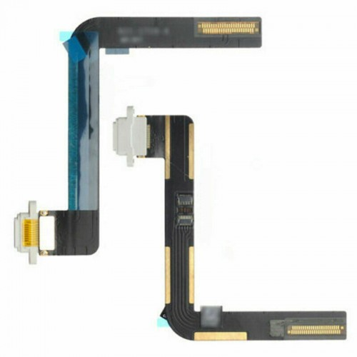 For iPad 5/ 6/ Air Charging Port Dock Connector Flex Cable Replacement White