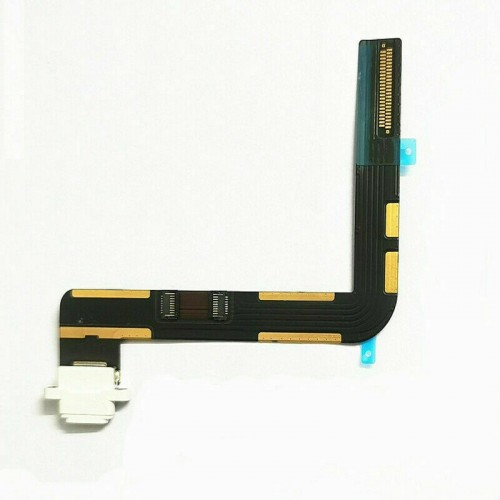 """For iPad 7th Gen 10.2"""" 2019 Charging Port Dock Connector Flex Cable Replacement White"""