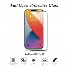 For iPhone 12 / 12 Pro Curved Tempered Glass Screen Protector