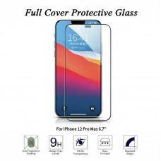 For iPhone 12 Pro Max Curved Tempered Glass Screen Protector