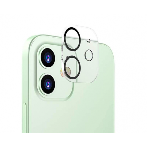 For iPhone 12 3D Full Cover Camera Lens Tempered Glass Protector