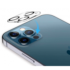 For iPhone 12 Pro Max 3D Full Cover Camera Lens Tempered Glass Protector