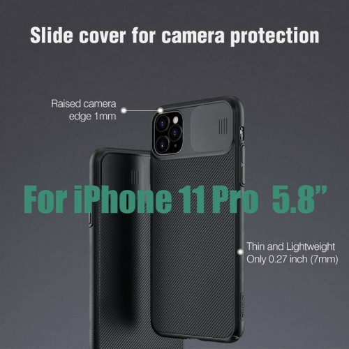 Nillkin Camshield Pro Case For iPhone 11 Pro Black