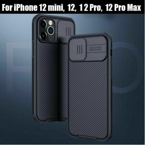Nillkin Camshield Pro Case For iPhone 12 Mini 5.4 Black