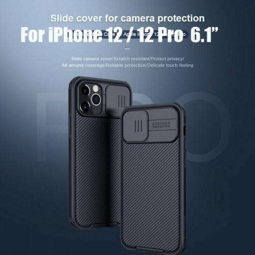 Nillkin Camshield Pro Case For iPhone 12/12 Pro 6.1 Black