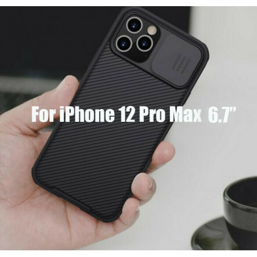 Nillkin Camshield Pro Case For iPhone 12 Pro Max Black