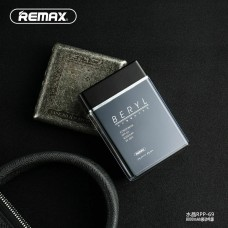 Remax Perfume Style 8000mah Battery Protection Pocket Power Bank Travel Charger Black