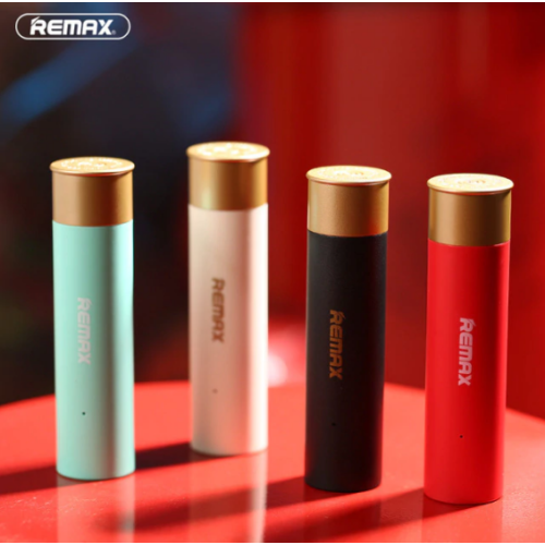 NEW Remax Shell Cartridge 2500mah Battery Protection Power Bank Travel Charger Red