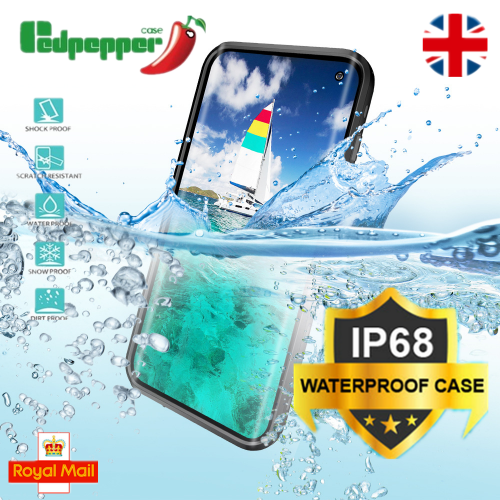 Redpepper Professional Waterproof Dot Series Case For Samsung S9 Plus Blue